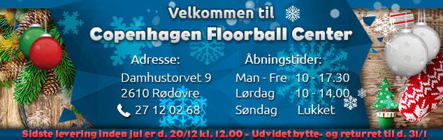 Velkommen til Jul i Copenhagen Floorball Center